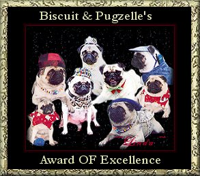 Biscuit & Pugzelle Award